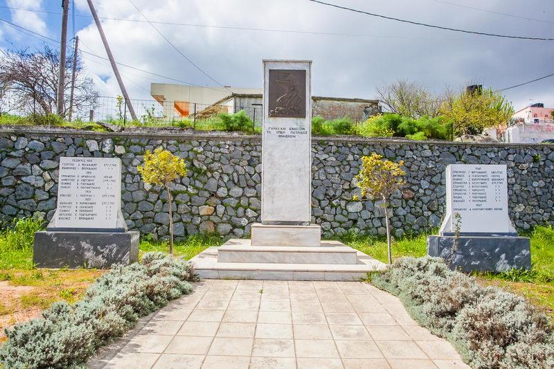Μνημείο Πεσόντων στο Θραψανό