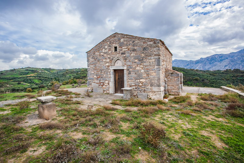 Church of Saint George in Lyttos (Xidas)
