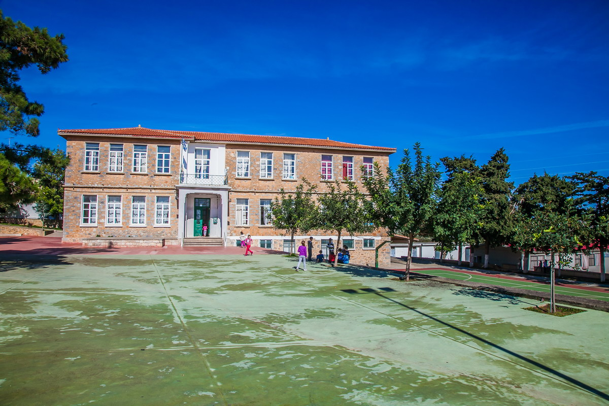 The Primary School of Thrapsano