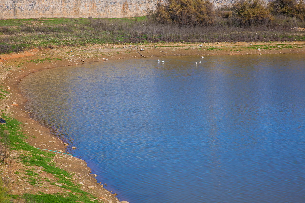 Lake Livada of Thrapsano