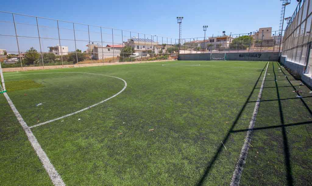 Football court of Thrapsano